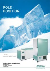 Hettich Freezers a brosure freezers a